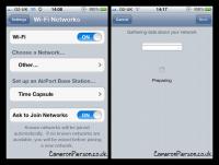 又有 iOS 5 beta 新功能走光,即透過 iDevices 設定 AirPort Time C