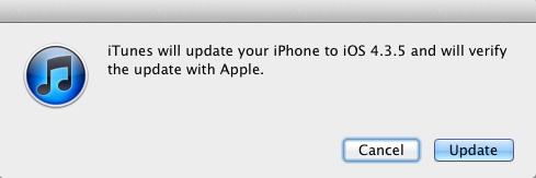 iOS 4.3.5 更新發布,旨在修正漏洞