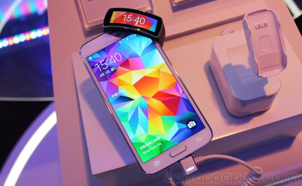 Galaxy S5及新Gear系列香港發佈: 公開日期售價, 附送$3000禮物