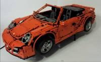 神之作! Lego 遙控Porsche 911 Turbo Cabriolet + 可運轉PDK變速箱