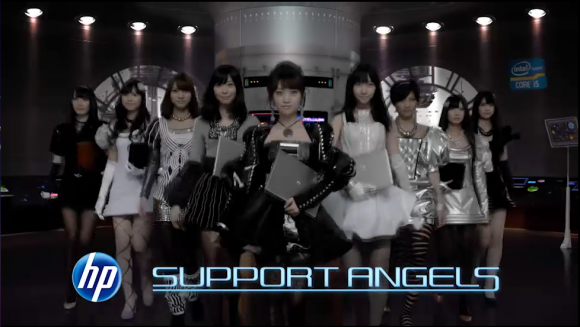AKB48 教你用 HP 筆電!!!
