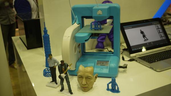 Computex 2014:Intel 的 3D印表機 裝可愛而已
