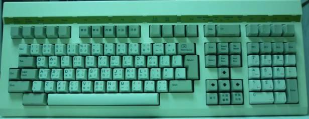 不知名伺服器用鍵盤分解圖