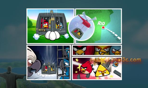 Angry Birds Rio - 一起去里約冒險