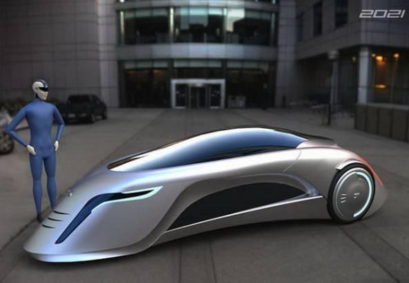 極科幻的未來概念車 Supersonic Car