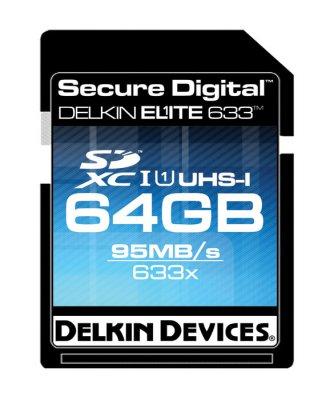 Delkin推出很快很快地SDXC,32GB與64GB,讀取速度為95MB/s ,寫入速度為45MB/s,最神奇的是……