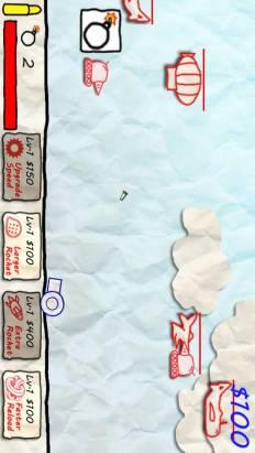 [香港製造遊戲,下載已過100000] 2條友在無聊? 玩一下Paper War for 2 players!