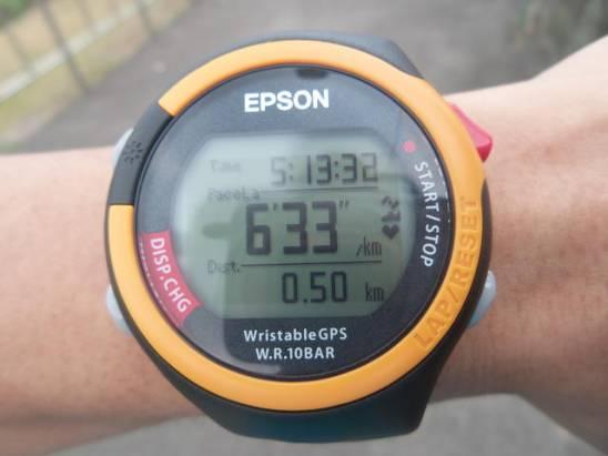 Seiko Epson WristableGPS SS-701T GPS 運動錶開箱測試報告
