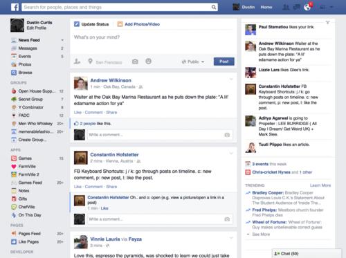 臉書表示當前 UI 的定案,主要是考量部份使用者的螢幕太爛...