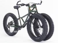 沙灘雪地專用的三輪車-Fat Bike