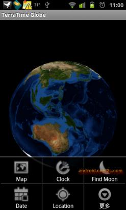 TerraTime - 即時的世界地圖動態桌布