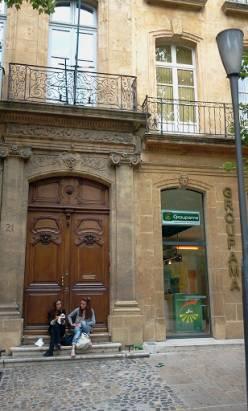南法 嫩妹很多的小鎮 Aix en Provence