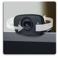 羅技HD網路攝影機C525 簡單翻轉好攜帶 自動對焦不失真