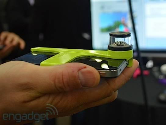 Kogeto Dot讓你的iPhone4可以全景錄影