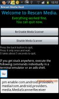 Rescan Media ROOT - 一鍵重新掃描新增的圖片與音樂