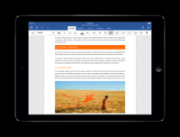 微軟正式發表 Office for iPad,與桌面版功能更靠近 編輯功能啟用需 Office 365 年費 99 美元