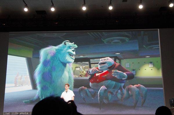 GTC 2014 : Pixar 展示 GPU 加速在電影工業創造的美麗新世界