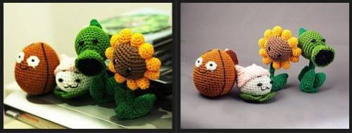 植物大戰殭屍娃娃!