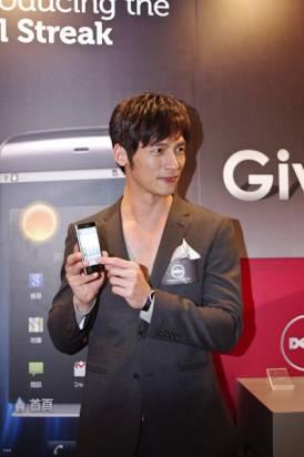 DELL 新智慧型手機在台上市,會場有溫生蠔喔~~