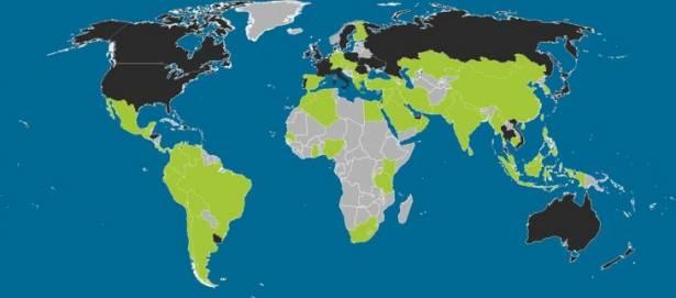 世界哪些地方用 iOS, 哪些用 Android? 一幅圖就看到 [圖表]