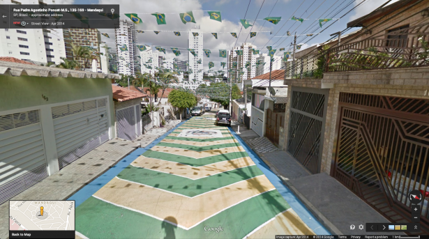 親臨世界杯現場: Google Maps 讓你走進 World Cup 球場