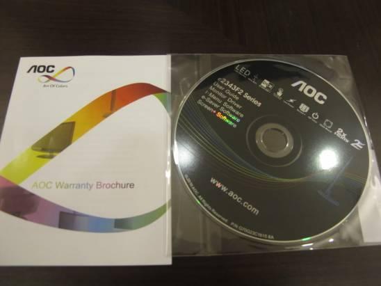 簡易開箱之AOC液晶螢幕e2343F2k外貿協會篇