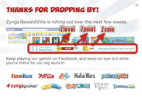Zynga 推出《RewardVille》回饋玩家 另類練功換各遊戲虛寶