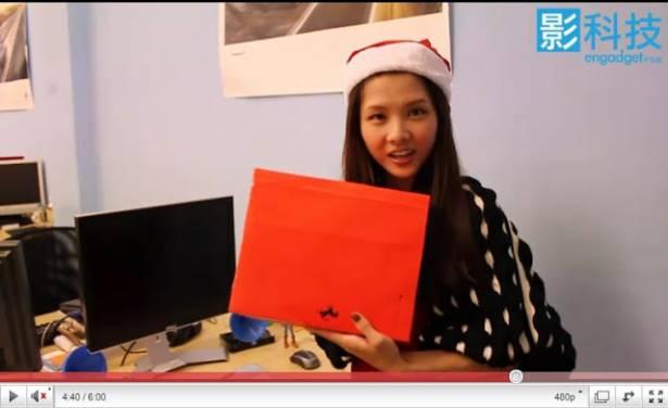 [開箱] 影科技聖誕禮開箱囉~