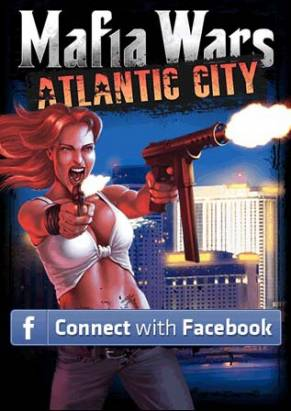 邊走邊開槍 Html5 手機遊戲《Mafia Wars Atlantic City》