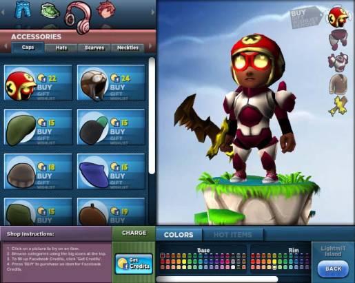 《Milmo》顛覆臉書休閒傾向 大搞3D動作遊戲