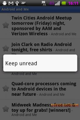 Google Reader - 官方的Reader閱讀軟體