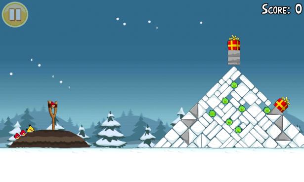 遇到聖誕節一定要應景的!Angry Birds 推出耶誕特別版