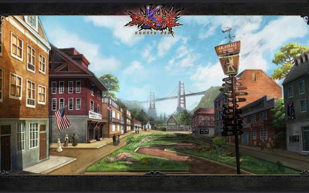 融合中西文化《功夫英雄》新概念真3D網路遊戲