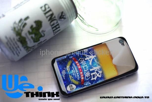 iphone 4 unique sticker
