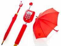 一兼二顧,讓妳優雅地撐傘與講電話