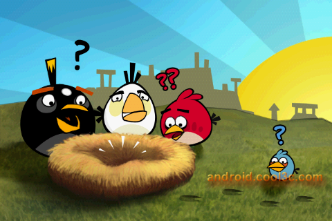 Angry Birds - 結合益智與動作的小遊戲