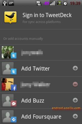 TweetDeck - 社交網路一次搞定