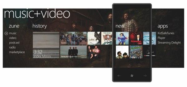Windows Phone 7:微軟二度挑戰智慧型手機的堅強作品!