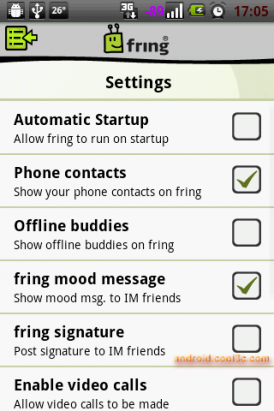 fring - SIP網路電話的另一個選擇