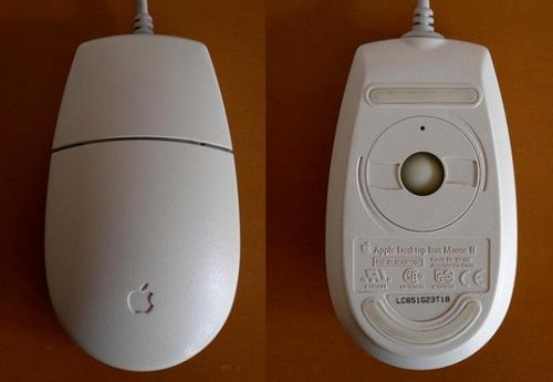 時尚蘋果鼠也是有過去的,滑鼠造型進化編年史