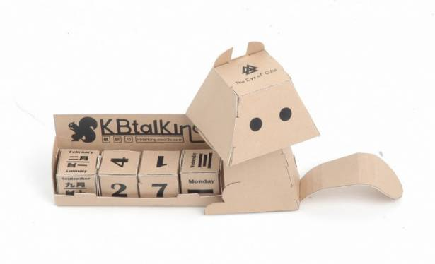 KBtalKing Light 附屬小物「鍵帽松鼠萬年曆」樣品出現