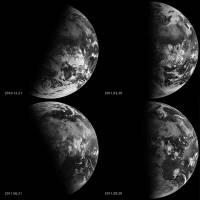 高速地球 Timelapse 認識春分 夏至 秋分與冬至