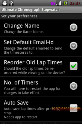 Ultimate Chronograph Stopwatch - 多重碼表計時器