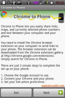 Google Chrome to Phone+Firefox 實戰演練(2.2 Froyo以上適用)