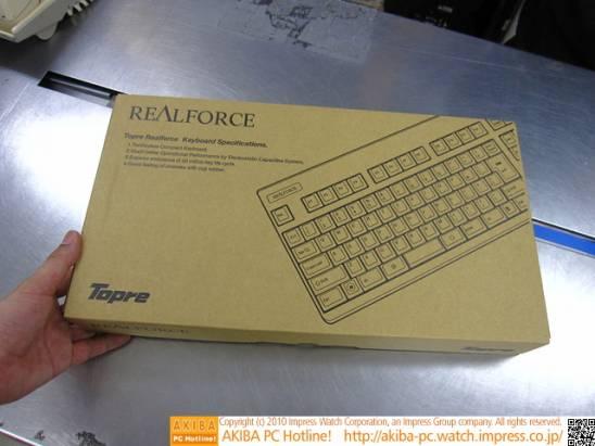 Realforce 91UBK-S靜音版鍵盤登場