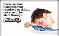 有好睡眠才帥得起來,可當枕頭用的時尚領帶