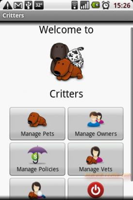 Critters - 寵物健康秘書