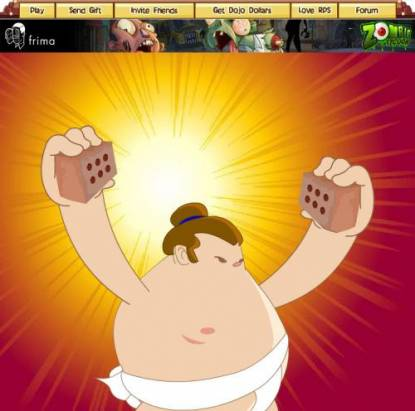臉書《Rock Paper Sumo》 打造帥氣威猛花太郎