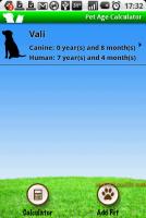 Pet Age Calculator - 寵物年齡計算器