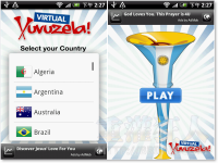 World Cup Virtual VuVuZela 看世足就是要一起吵鬧啦!=p